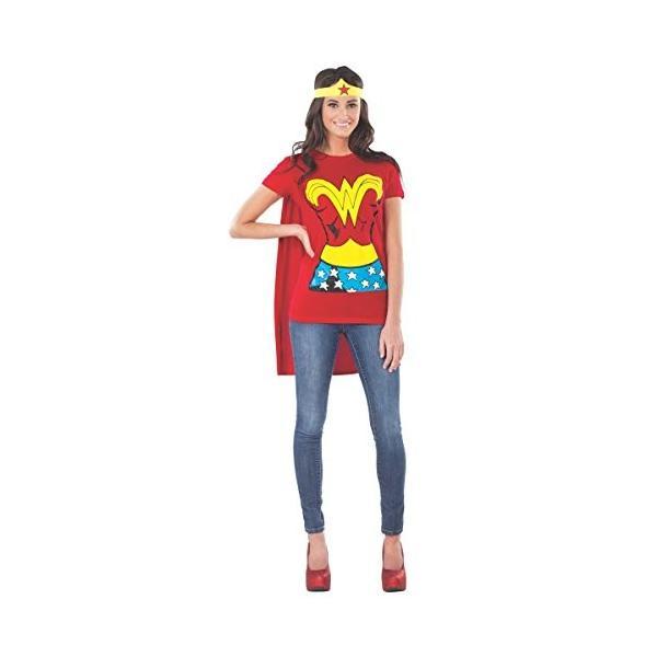 Wonder Woman Cape Costume Dress Red