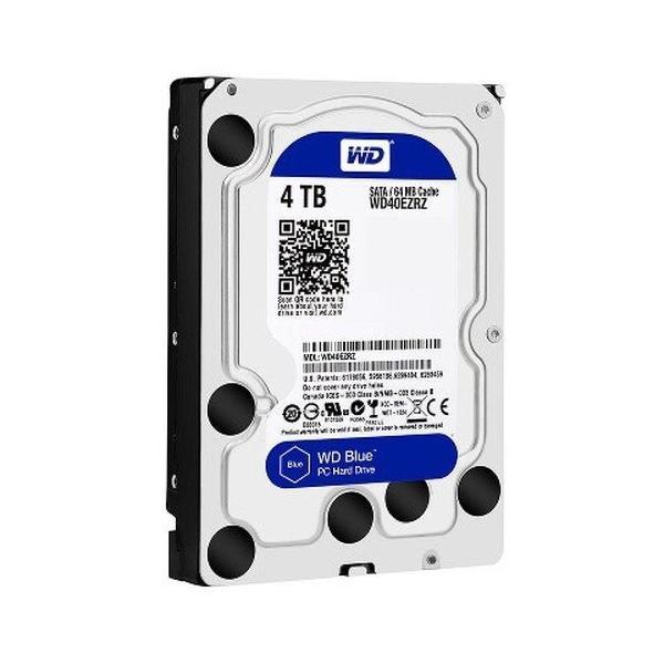 3.5インチ内蔵HDD 4TB SATA600 新品 WD blue WD40EZRZ-RT2 WD40EZRZ WESTERN DIGITAL 5400rpm 内蔵型ハードディスクドライブ 0305