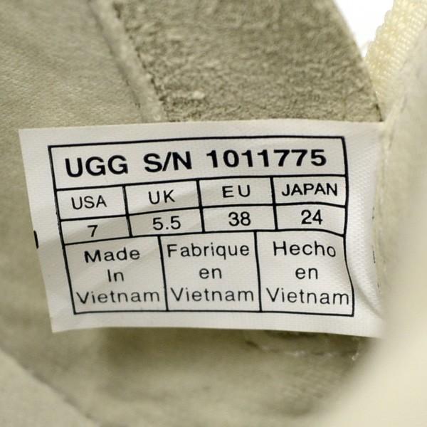 UGG /  アグ  グレーディー/GRADIE/アイボリー/サイズ24/靴/クツ/中古/シューズ/可愛い/オシャレ/通勤/通学 /1011775 /未使用