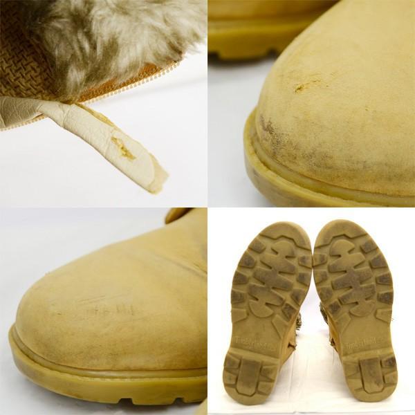 Timberland / ティンバーランド  ロングブーツ/ブラウン/ファー付き/23.5cm/靴/クツ/シューズ/中古/冬/もこもこ/可愛い