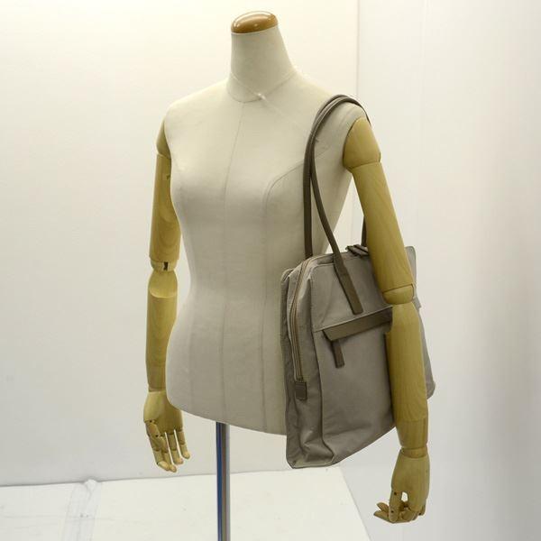 agnes b / アニエスベー  ビジネスバック/ナイロン/グレー/仕事/営業/社会人 レディースファッション 中古