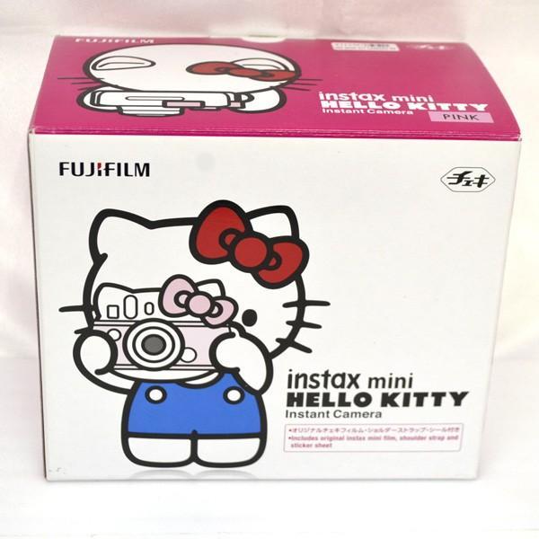 フジフイルム インスタントカメラ instax mini 「チェキ」 ハローキティの画像