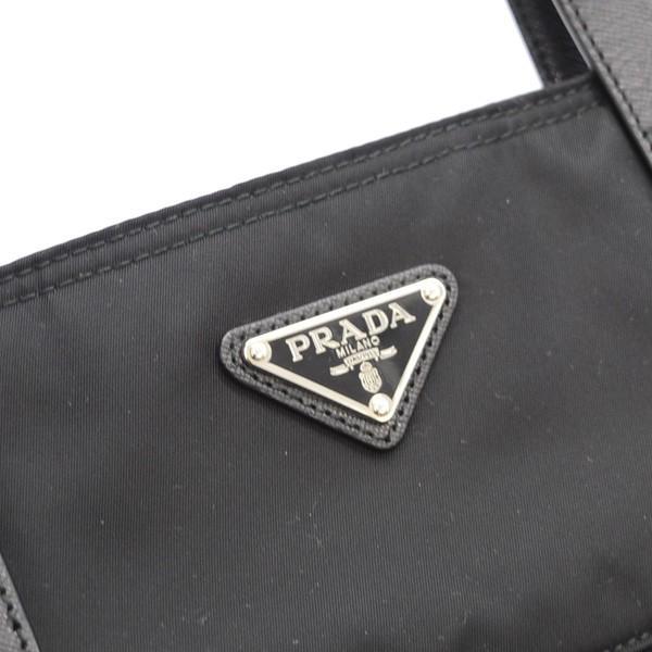 PRADA / プラダ  ナイロントートバッグ 2WAY ブラック 三角プレート B2530T ブランド 中古