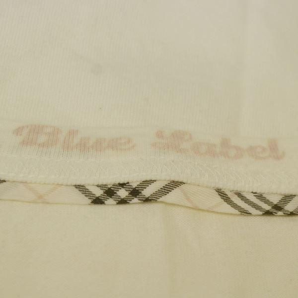 BURBERRY BLUE LABEL / バーバリーブルーレーベル  半袖Tシャツ/ホワイト/サイズ38/オシャレ/カワイイ/夏物 レディース 中古|shop-archery|04