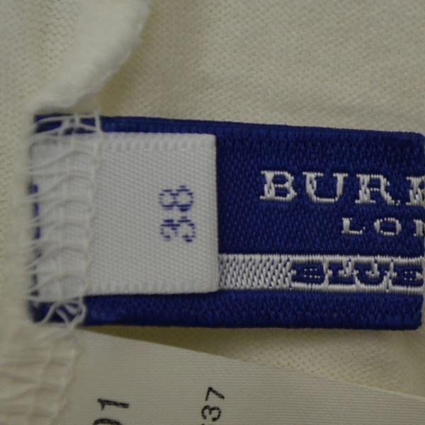 BURBERRY BLUE LABEL / バーバリーブルーレーベル  半袖Tシャツ/ホワイト/サイズ38/オシャレ/カワイイ/夏物 レディース 中古|shop-archery|05