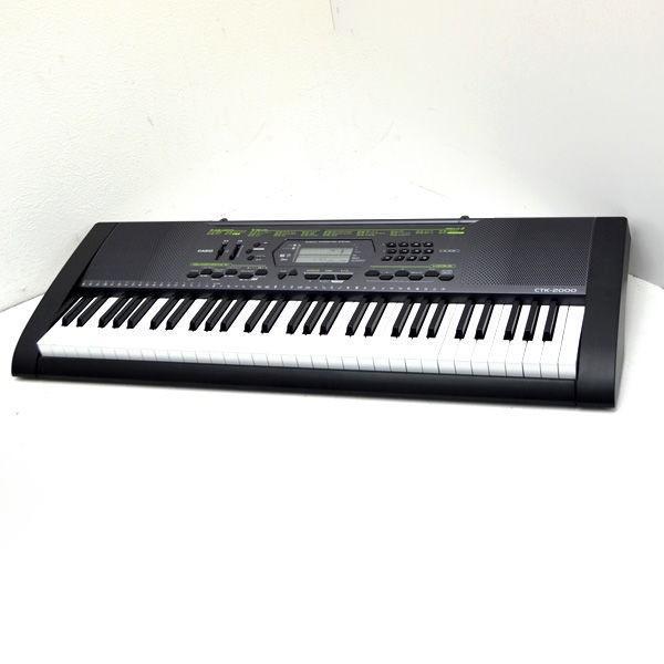 CASIO / カシオ  電子キーボード CTK-2000 動作確認済み 入門 知育 ピアノ オルガン 作曲 CTK-2000 楽器 中古