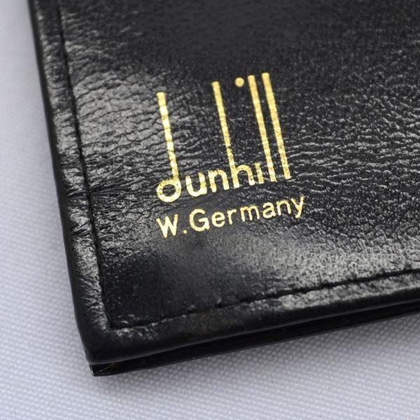 DUNHILL/ダンヒル  クロコダイル 二つ折り長札入れ   中古