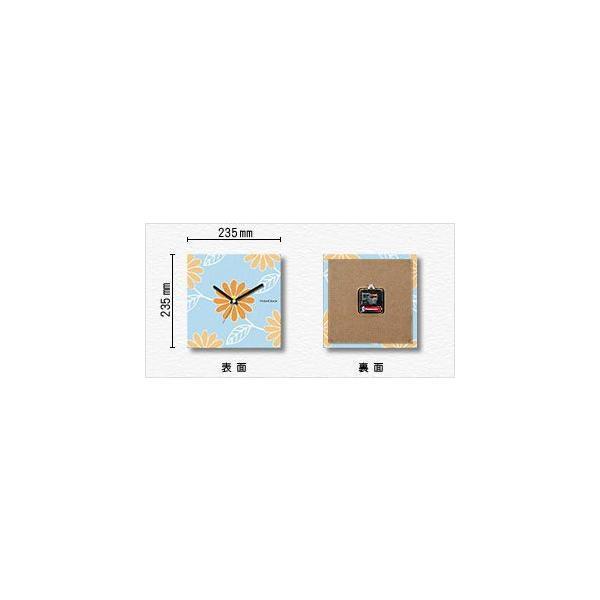 壁掛け時計 扇子 ファブリクロック ファブリック ウォールクロック 掛時計 壁時計 かけ時計 スイープ とけい せんす|shop-askm|02