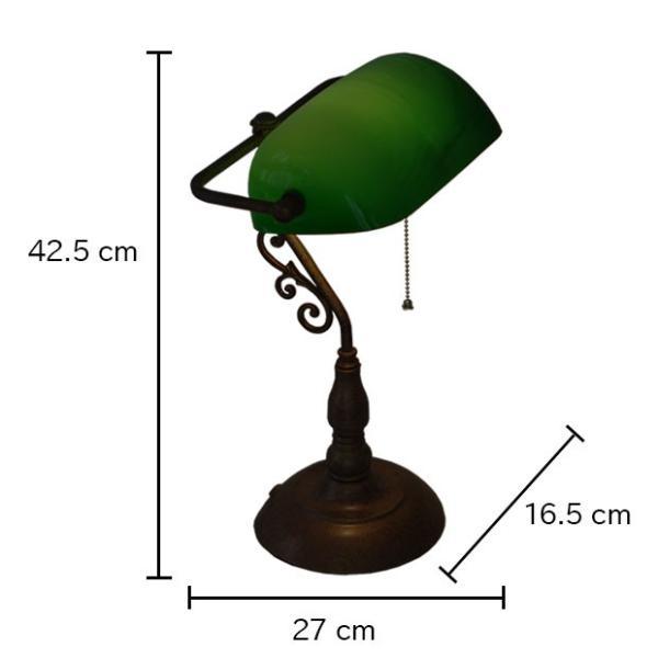 照明器具 ガラス テーブルライト デスクライト アンティーク Esmeralda L エスメラルダ 1灯 オーブ OF-027/1T shop-askm 07