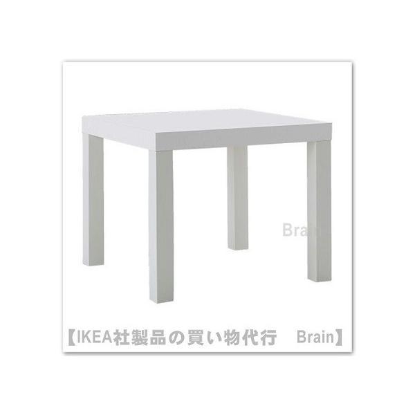 IKEA/イケアLACK/ラックサイドテーブルホワイト