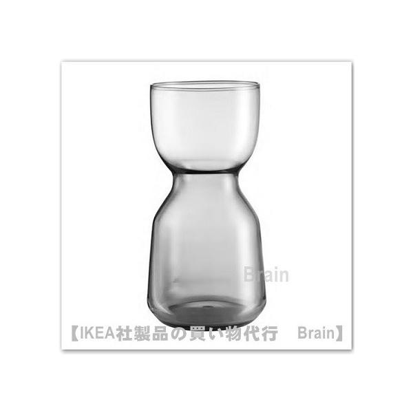 IKEA/イケア OMTANKSAM 花瓶15 cm ライトグレー