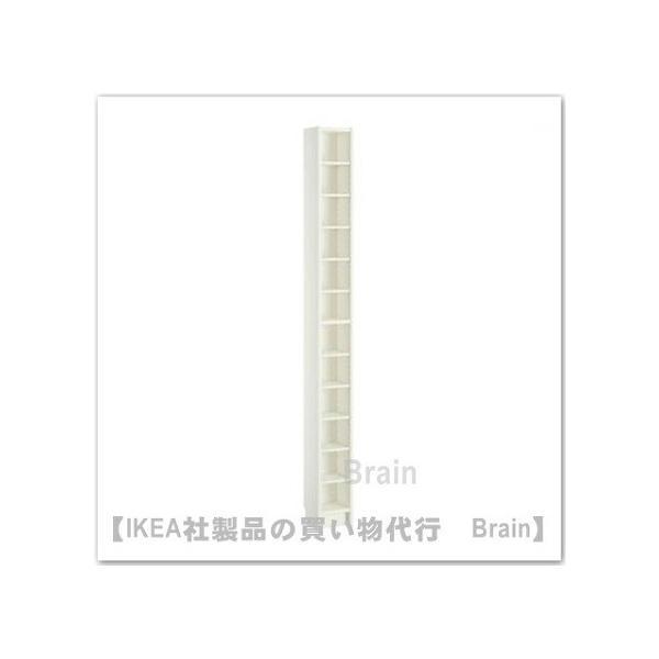 IKEA/イケア GNEDBY シェルフユニット20×202 cm ホワイト