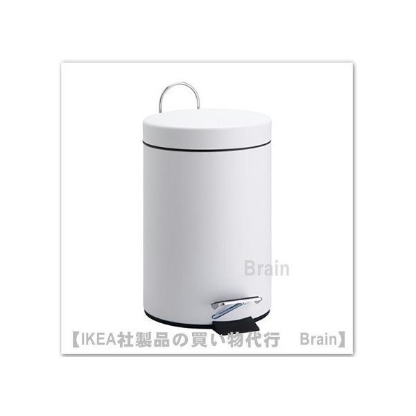 RoomClip商品情報 - IKEA/イケア VORGOD ペダル式ゴミ箱3L ホワイト