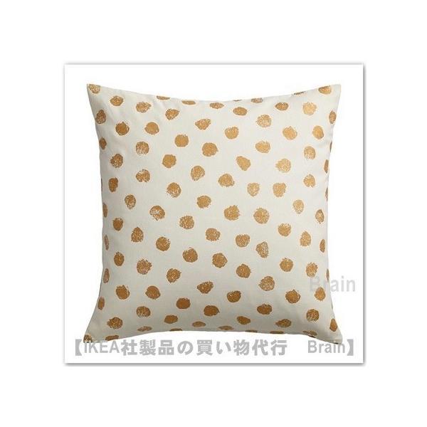 RoomClip商品情報 - IKEA/イケア SKAGGORT クッションカバー50x50 cm ホワイト/ゴールドカラー