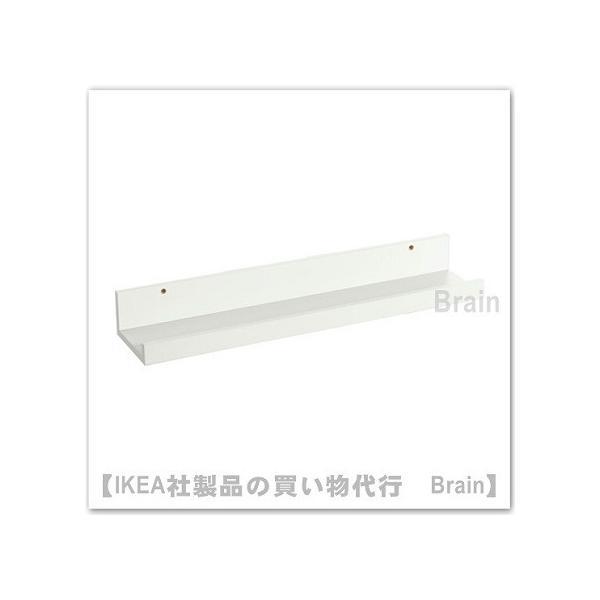 RoomClip商品情報 - IKEA/イケア MOSSLANDA アート用飾り棚55cm ホワイト