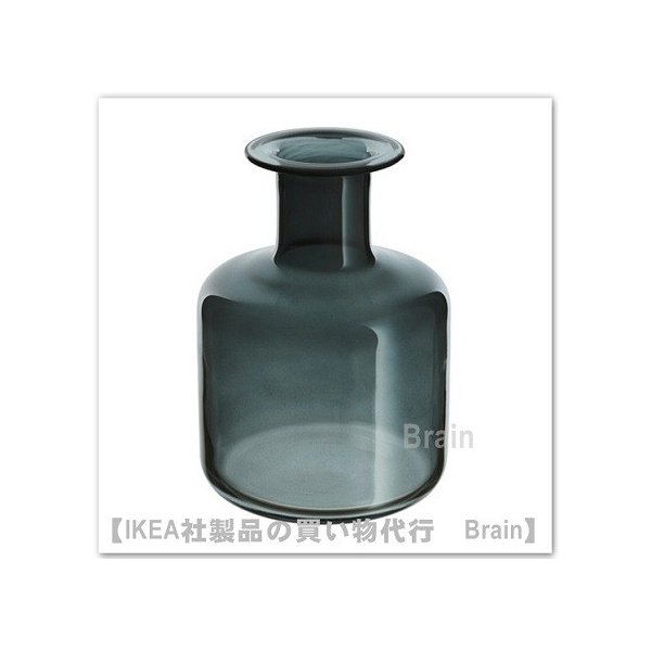 IKEA/イケア PEPPARKORN 花瓶17 cm グレー