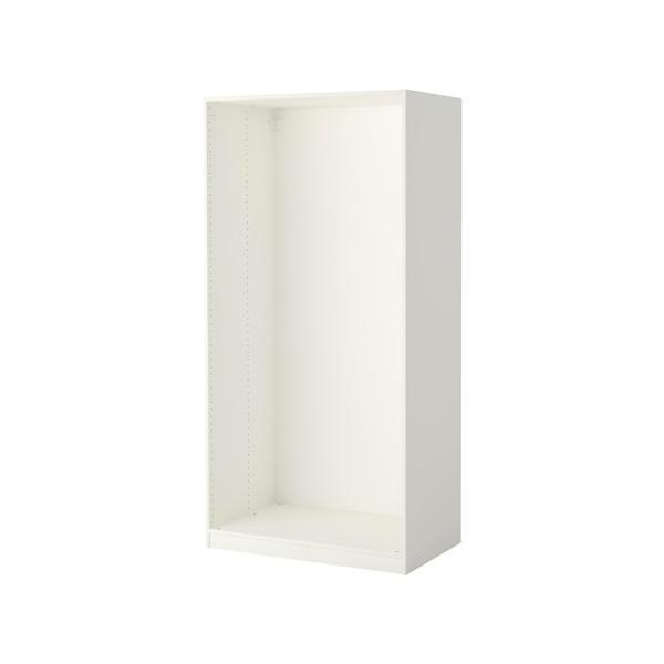 RoomClip商品情報 - IKEA/イケア PAX ワードローブフレーム100x58x201 cm ホワイト