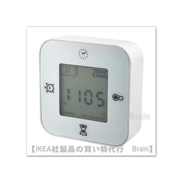 RoomClip商品情報 - IKEA/イケア KLOCKIS 時計/温度計/アラーム/タイマー ホワイト