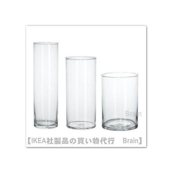 RoomClip商品情報 - IKEA/イケア CYLINDER 花瓶17cm/23cm/28cm 3個セット クリアガラス