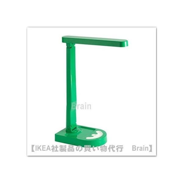 IKEA/イケア HARALIDEN LEDテーブルランプ グリーン/ホワイト