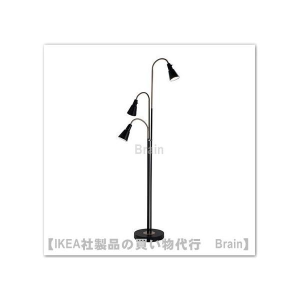 RoomClip商品情報 - IKEA/イケア KVART フロアランプ 3スポット ブラック
