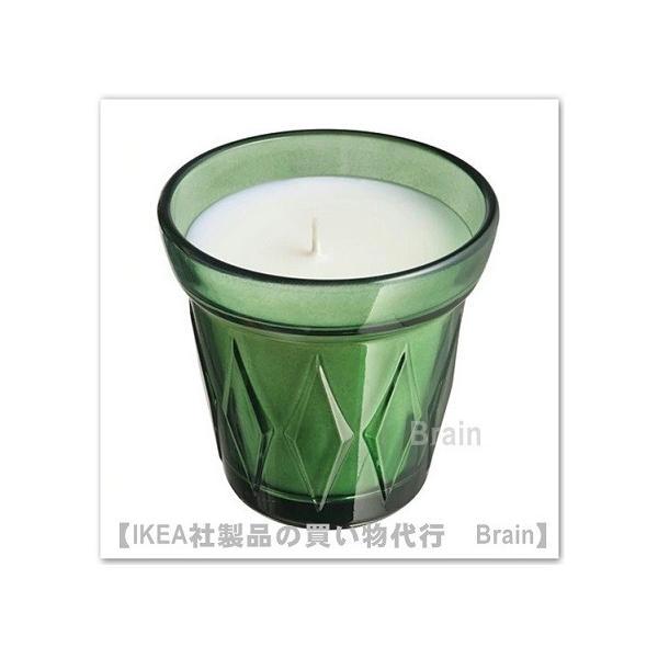 RoomClip商品情報 - IKEA/イケア VALDOFT 香り付きキャンドル グラス入り8 cm タイム/ダークグリーン