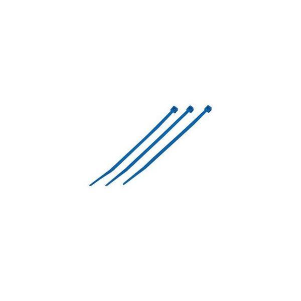 (まとめ)結束バンド ケーブルタイ(カラー) 〔長さ165mm/100本入×10セット〕 ブルー(青) マーベル MCT-165BE