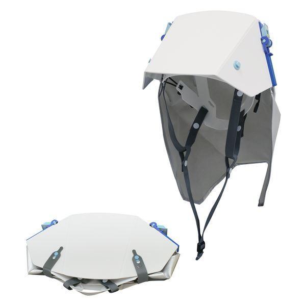 防災ズキン付き折りたたみ式ヘルメット タタメットズキン3