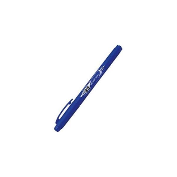 (業務用30セット) トンボ鉛筆 油性ペン/モノツイン 〔極細/青〕 10本入り 油性インク OS-TME15