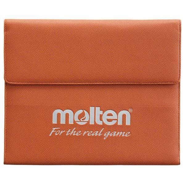 〔モルテン Molten〕 スポーツ用 バインダー/ドキュメントケース 〔縦26.5×横32cm〕 名刺ポケット カード入 ペンホルダー付き