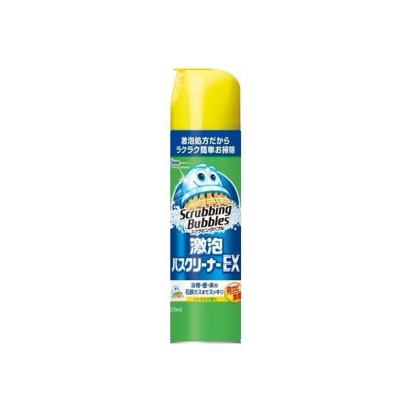 (まとめ)ジョンソン スクラビングバブル激泡バスクリーナーEX 〔×5点セット〕 shop-easu01
