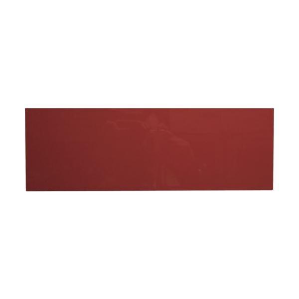 (まとめ) カーク カラーマグネットシート 赤MCD-R 1枚 〔×5セット〕