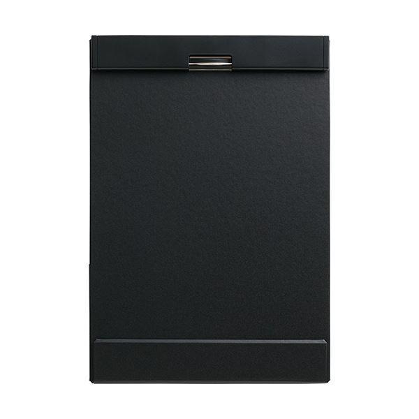 (まとめ)キングジム クリップボード マグフラップA4タテ 黒 5085クロ 1冊 〔×5セット〕