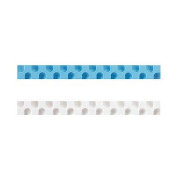 (まとめ)コクヨ 消しゴム カドケシスティックつめ替え用消しゴム(ブルー・ホワイト)ケシ-U600-2 1セット(20本:2本×10パック)〔×10セット〕