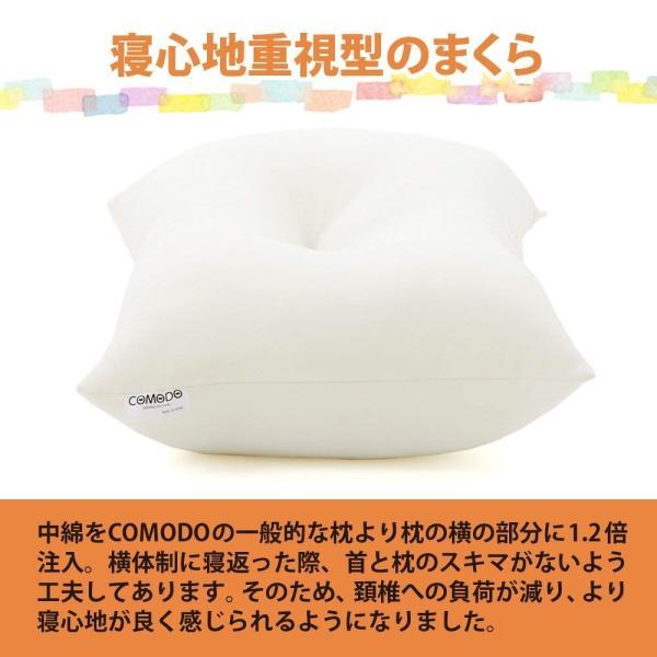 COMODO 寝心地重視の頚椎サポート枕 スタンダードタイプの機能まくら 35×55cm 頚椎安定枕 - COMODOオリジナル 安眠枕 C shop-frontier 02