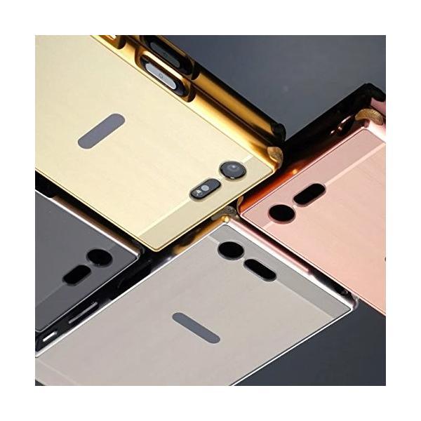 「A-chito」 Sony Xperia X comapct ケース アルミニウム合金+PC素材 SO-02J 耐衝撃 ストラップ付き リ|shop-frontier