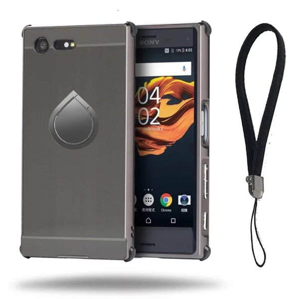 「A-chito」 Sony Xperia X comapct ケース アルミニウム合金+PC素材 SO-02J 耐衝撃 ストラップ付き リ|shop-frontier|06