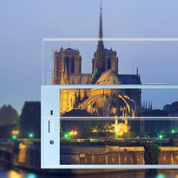 AMOVO3D全面Sony Xperia XZs フィルム エクスペリア XZs ガラスフィルム 硬度9H 鮮やか 強化ガラスフィルム SO shop-frontier 02