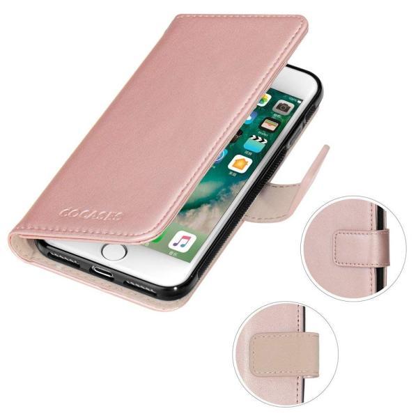 iPhone7Plus iPhone8Plus ケース PUレザー COCASES 手帳型 アイフォン7/8プラス マグネット式 取り外し可|shop-frontier|04