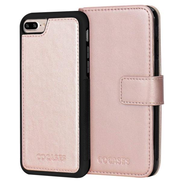 iPhone7Plus iPhone8Plus ケース PUレザー COCASES 手帳型 アイフォン7/8プラス マグネット式 取り外し可|shop-frontier|06