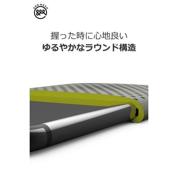 AndMesh iPhone SE ケース/5S メッシュケース 耐衝撃 | クレイグリーン AMMSC501-CGN|shop-frontier|04