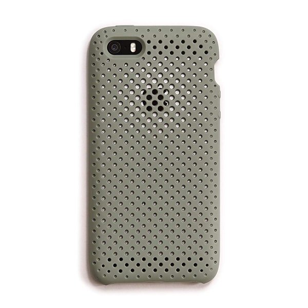AndMesh iPhone SE ケース/5S メッシュケース 耐衝撃 | クレイグリーン AMMSC501-CGN|shop-frontier|07