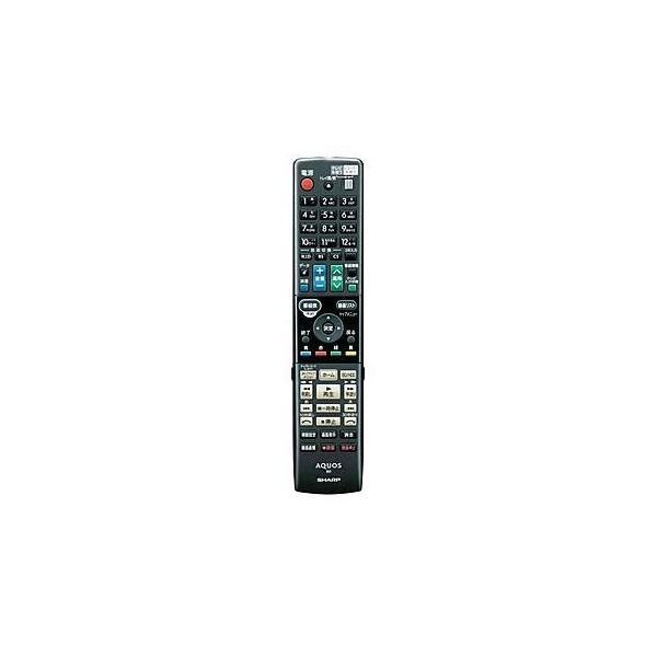 シャープ ブルーレイディスクレコーダー用リモコン RRMCGB017WJPA(0046380253)