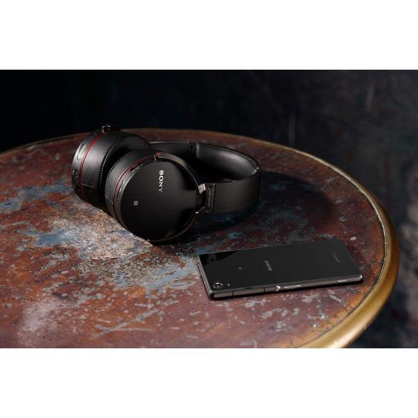 ソニー SONY ワイヤレスヘッドホン MDR-XB950BT : Bluetooth対応 折りたたみ式 マイク付き ブラック MDR-XB