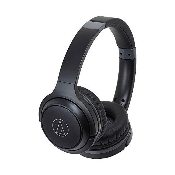 オーディオテクニカ Bluetooth対応ワイヤレスヘッドホン(ブラック)audio-technica ATH-S200BT BK|shop-frontier