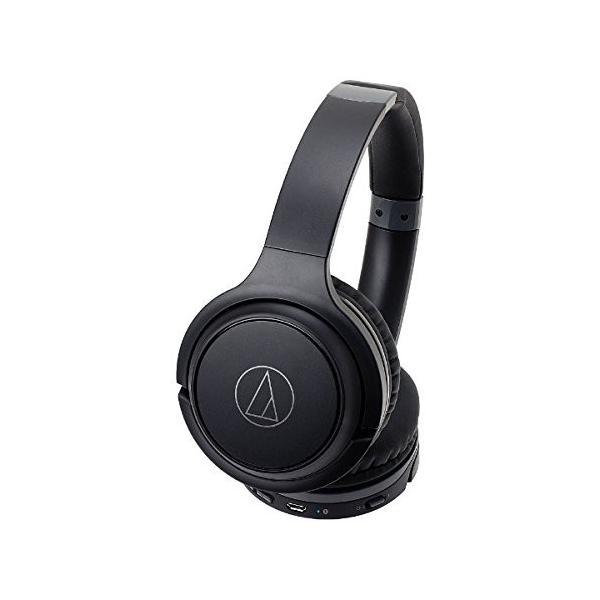 オーディオテクニカ Bluetooth対応ワイヤレスヘッドホン(ブラック)audio-technica ATH-S200BT BK|shop-frontier|05