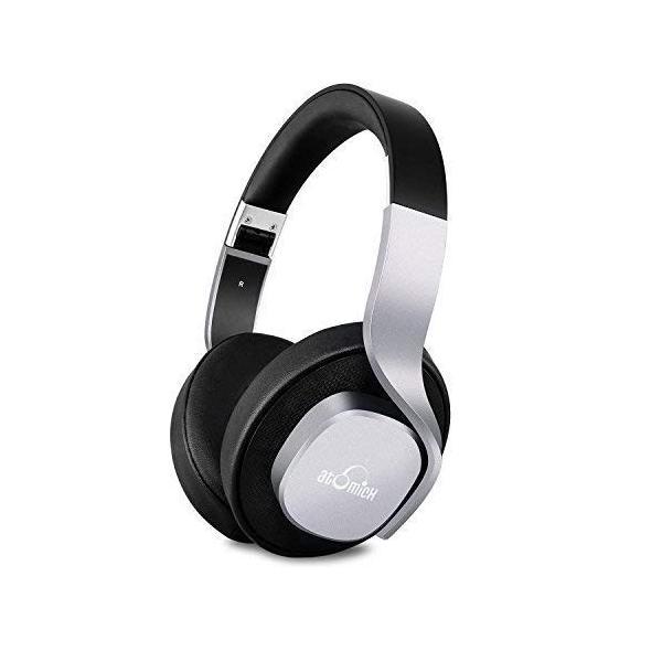 iDeaUSA Bluetoothヘッドホン ワイヤレスヘッドホン ステレオヘッドホン/高音質/密閉型/折り畳み式/軽量/操作簡単/マイク付