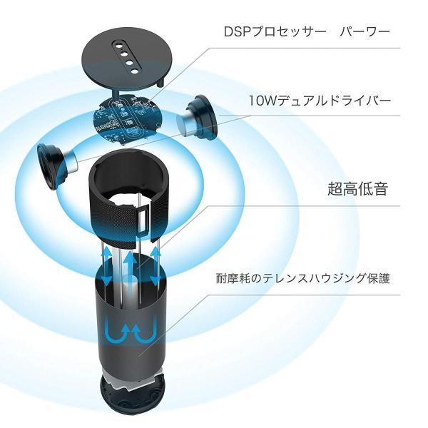 Bluetoothスピーカー Abramtek Bluetooth4.2 ワイヤレススピーカー 高音質 360°ステレオサウンド 超重低音