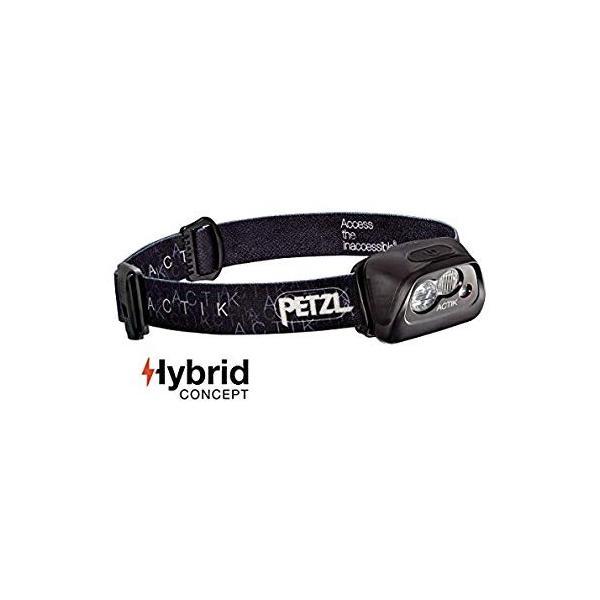 PETZL(ペツル) ACTIK (アクティック) ブラック アクティブシリーズ E99AA A