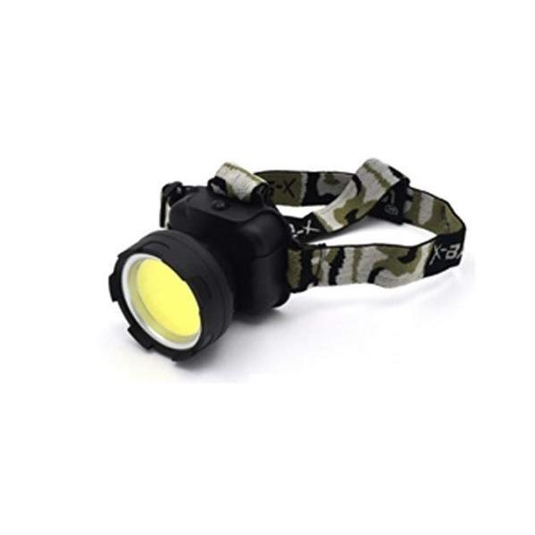 PLATA LED ヘッド ライト 4色から選べる 迷彩 デザイン 点灯 点滅 スイッチ で 切り替え 可 Headlight ヘッドライト
